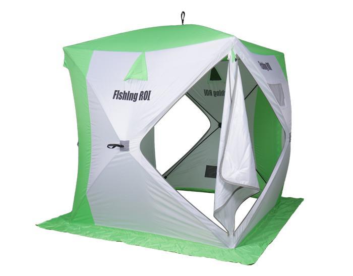 палатка для зимней рыбалки следопыт куб