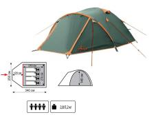 Палатка Tramp Totem Chinook TTT-017