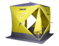 "Палатка зимняя Куб ""Fishing ROI"" ATLANT (180*180*205см.) yellow-grey"