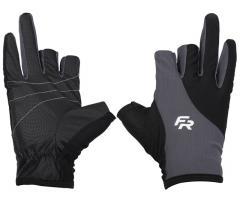 Перчатка спиннингиста Fishing ROI W9 black-gray XXL (c 2 пальц.)