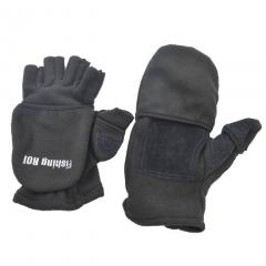 Перчатки Fishing ROI рыбацкие (черный) L