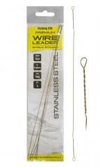 Поводок струна Fishing ROI Wire Leader 0,33мм 17кг 15см