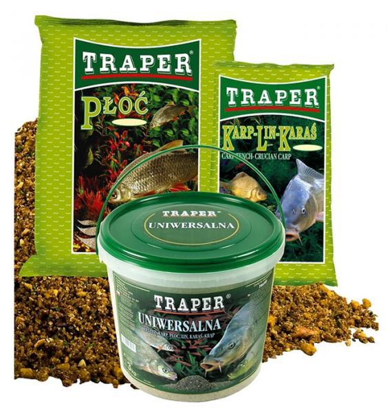 Прикормка TRAPER 2.5kg POP Плотва