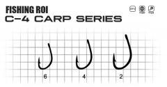 Крючки FR Karp C4 №4 (уп10шт)