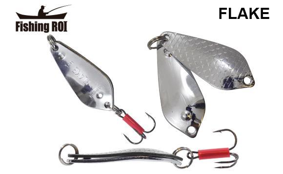 Блесна Fishing ROI Flake 18gr 001+001