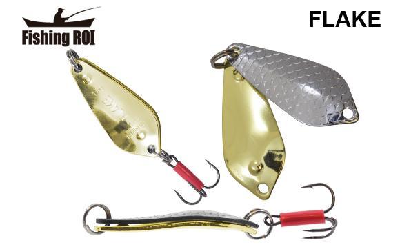 Блесна Fishing ROI Flake 18gr 001+002