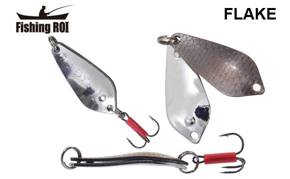 Блесна Fishing ROI Flake 18gr 005+001