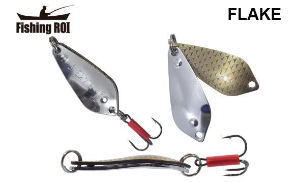 Блесна Fishing ROI Flake 18gr 007+001