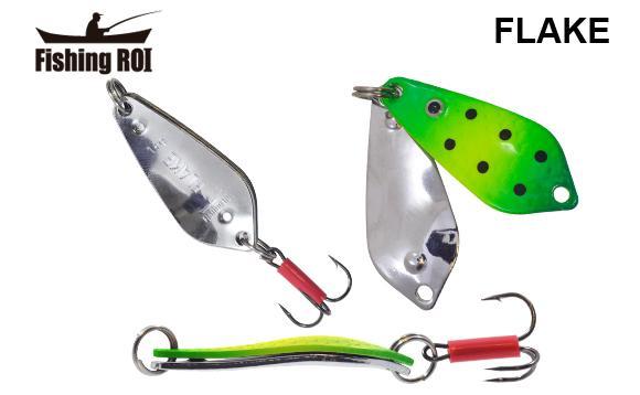 Блесна Fishing ROI Flake 18gr 017+001