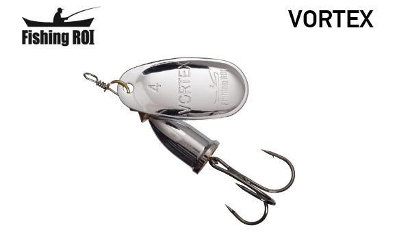 Блесна Fishing ROI Vortex 1 silver 4gr 001