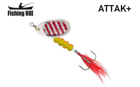 Блесна Fishing ROI Attak+ 7gr 34