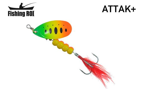 Блесна Fishing ROI Attak+ 7gr 29