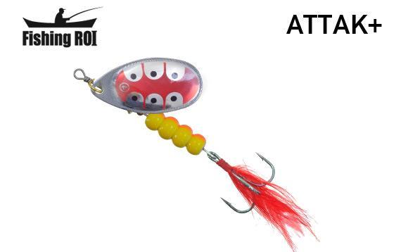 Блесна Fishing ROI Attak+ 21gr 36