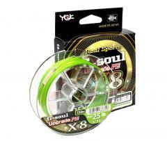 Шнур плетений YGK G-Soul X8 Upgrade 150m 1.5 (30lb/13.61kg)