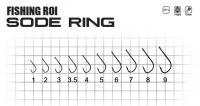 Крючки FR Sode-ring №9 (уп11шт)
