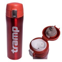 Термос Tramp 0,45 л красный металлик TRC-107-red