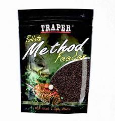 Пеллет TRAPER Method Feeder Pellet Halibut 4мм 500гр черный