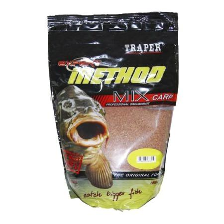 Прикормка TRAPER Method MIX 1kg Scopex/Fish