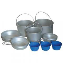 Набор посуды из алюминия Tramp