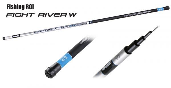Маховое удилище Fishing ROI Telepole Fight River W 600 до 25gr б/к