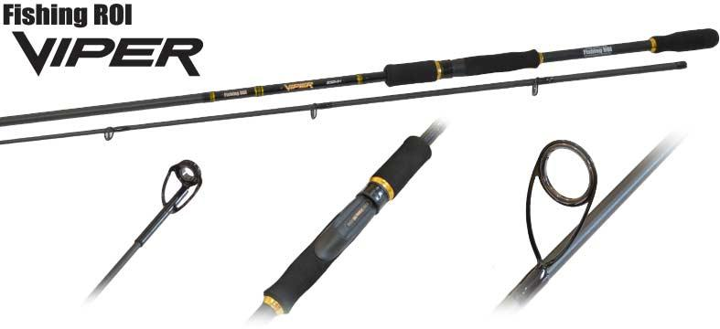 Спиннинг Fishing ROI Viper 2.40m 7-23g