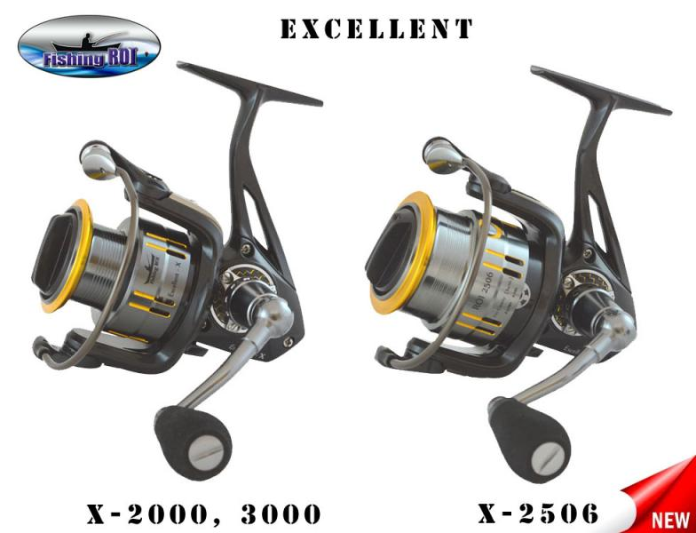 "Катушка ""Fishing ROI"" Excellent-X 2506 8+1"