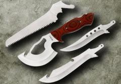 Туристический набор (ручка пластик) (нож с топором)