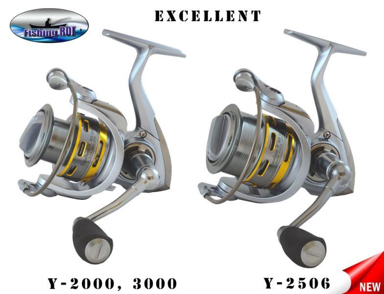 """Катушка """"Fishing ROI"""" Excellent-Y 2506 8+1"""