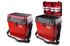 Ящик Fishing ROI зимний красный MB9317 385*255*375