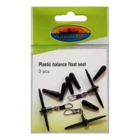 Крепление поплавка Fishing ROI Plastic balance float seat
