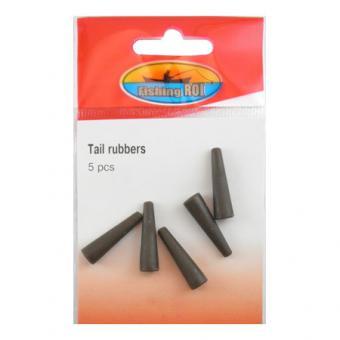Резиновый конус Fishing ROI Tail rubbers (green)