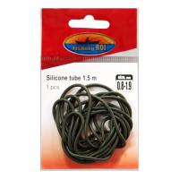 Трубка силиконовая Fishing ROI Elastic rubber tube d-0.8*1.9mm (green)