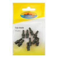 Резиновый коннектор для вертлюжков Fishing ROI Tulip beads