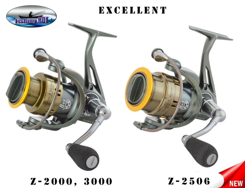"Катушка ""Fishing ROI"" Excellent-Z 2506 8+1"